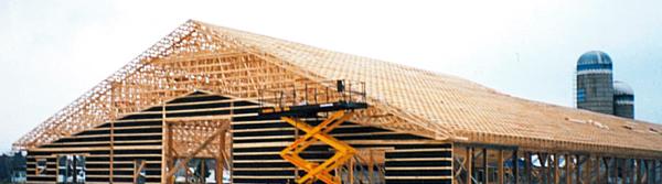 Ferme de toit | Chevrons Vigneault | St-Ferdinand