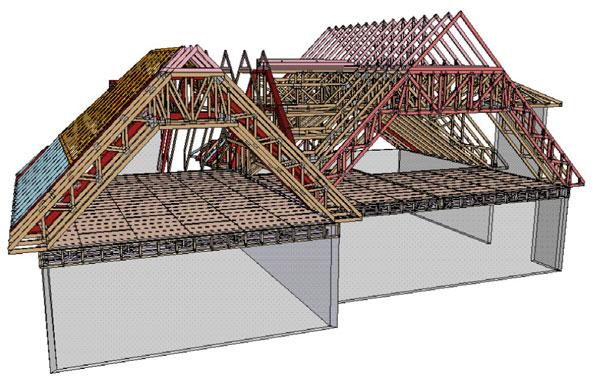 D co construire lucarne de toit 31 lyon lucarne for Construire une lucarne rampante